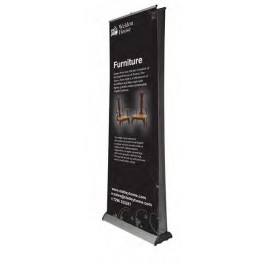 Rollup double-sided 85 cm